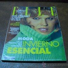 Coleccionismo de Revistas y Periódicos: REV.ELLE 10/1994- EVA HERZIGOVA AMPLIO RPTJE.PENELOPE CRUZ,MARTA SANCHEZ,ALESSANDRA MUSSOLINI,MODA. Lote 45860194