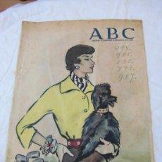 Coleccionismo de Revistas y Periódicos: PORTADA REVISTA ABC ILUSTRADOR BALDRICH HOJA DE REVISTA A B C 1955. Lote 37896968