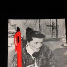 Coleccionismo de Revistas y Periódicos: CARTELERA TURIA - KATHERINE HEPBURN - 1968. Lote 37926714