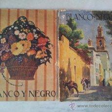 Coleccionismo de Revistas y Periódicos: DOS REVISTAS BLANCO Y NEGRO AÑO 1923 - 1924 . Lote 37973583