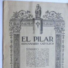 Coleccionismo de Revistas y Periódicos: EL PILAR / SEMANARIO CATOLICO JUNIO DE 1950 / EL MILAGRO DE ALFARO / ZARAGOZA. Lote 37970584