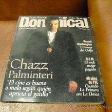 Coleccionismo de Revistas y Periódicos: REV DOMINICAL10/1996 CHAZZ PALMINTERI-GRAN RPTJE.40 AÑOS TVE,DENZEL WASHINGTON,REM. Lote 38064460