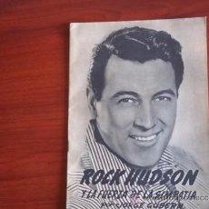 Coleccionismo de Revistas y Periódicos: LA VIDA Y LA FAMA - Nº 5 / PORTADA ROCK HUDSON /. Lote 38087738