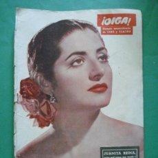 Coleccionismo de Revistas y Periódicos: ¡ OIGA ! SEMANARIO GRAFICO DE ACTUALIDADES,TOROS Y DEPORTES-SEVILLA AÑO IV .Nº 139(EXTRA) NOV-1956 . Lote 38105064