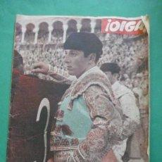 Coleccionismo de Revistas y Periódicos: ¡ OIGA ! SEMANARIO GRAFICO DE ACTUALIDADES,TOROS Y DEPORTES-SEVILLA AÑO IV .Nº 108 23-03-1956. Lote 38114511