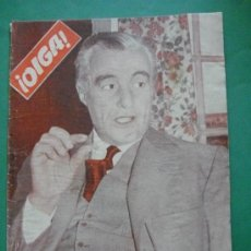 Coleccionismo de Revistas y Periódicos: ¡ OIGA ! SEMANARIO GRAFICO DE ACTUALIDADES,TOROS Y DEPORTES-SEVILLA AÑO IV .Nº 136 13-11-1956. Lote 38114581