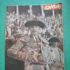 Coleccionismo de Revistas y Periódicos: ¡ OIGA ! SEMANARIO GRAFICO DE ACTUALIDADES,TOROS,DEPORTES AÑO III .Nº 2 19-4-56 EXTRA FERIA SEVILLA. Lote 38114709