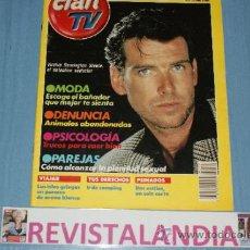 Coleccionismo de Revistas y Periódicos: REVISTA CLAN TV Nº74 PIERCE BROSNAN VIAJAR ISLAS GRIEGAS. Lote 38146849