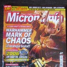 Coleccionismo de Revistas y Periódicos: ~ REVISTA DE MICROMANÍA DE JUEGOS DE CONSOLAS , Nº 114, ENERO 2007 ~. Lote 38163981