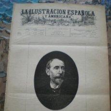 Coleccionismo de Revistas y Periódicos: ILUSTRACION ESPAÑOLA/AMERICANA (15/05/92) ENRIQUE MELIDA MADRID ROMA TEATRO ESPAÑOL GONZALEZ LLANA . Lote 38179583