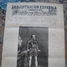 Coleccionismo de Revistas y Periódicos: ILUSTRACION ESPAÑOLA/AMERICANA (30/07/92) CASTILLEJA DE LA CUESTA MARQUES DE CERRALBO HUESCA . Lote 38188964