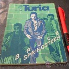 Coleccionismo de Revistas y Periódicos: CARTELERA TURIA - BRUCE SPRIGSTEEN - 1984. Lote 38196335