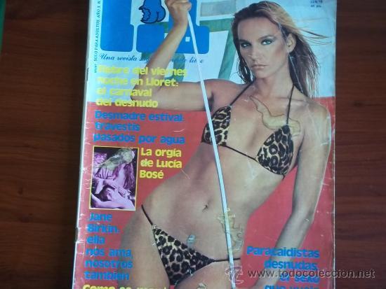 Revista Lib Nº 96 22 De Agosto De 1978 La Orgia De Lucia Bose Lloret El Carnaval Del Desnudo