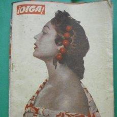 Coleccionismo de Revistas y Periódicos: ¡ OIGA ! SEMANARIO GRAFICO DE ACTUALIDADES,TOROS Y DEPORTES-SEVILLA.AÑO IV .Nº 97 03-01-1956. Lote 38225446