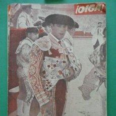 Coleccionismo de Revistas y Periódicos: ¡ OIGA ! SEMANARIO GRAFICO DE ACTUALIDADES,TOROS Y DEPORTES-SEVILLA AÑO IV Nº 109 27-03-1956. Lote 38225916