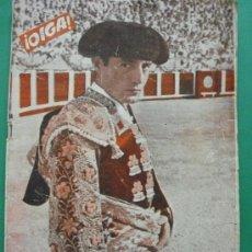 Coleccionismo de Revistas y Periódicos: ¡ OIGA ! SEMANARIO GRAFICO DE ACTUALIDADES,TOROS Y DEPORTES-SEVILLA AÑO IV Nº 125 17-07-1956. Lote 38226054