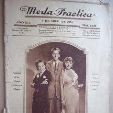 Coleccionismo de Revistas y Periódicos: MODA PRACTICA. 5 ABRIL 1936. Lote 38370040