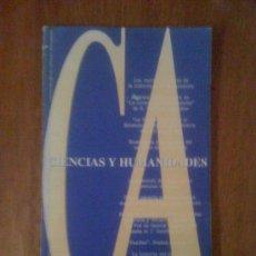 Coleccionismo de Revistas y Periódicos: CONCEPCIÓN ARENAL. CIENCIAS Y HUMANIDADES. N° 29 . Lote 38376706