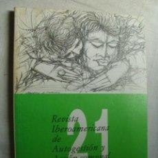 Coleccionismo de Revistas y Periódicos: REVISTA IBEROAMERICANA DE AUTOGESTIÓN Y ACCIÓN COMUNAL. Nº 21. 1983. Lote 38428833