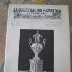 Coleccionismo de Revistas y Periódicos: ILUSTRACION ESPAÑOLA/AMERICANA (22/11/92) BURGO DE OSMA MADRID FITA GERARDO MULLE FIESTAS COLOMBINAS. Lote 38403579