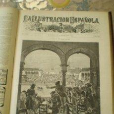 Coleccionismo de Revistas y Periódicos: LA ILUSTRACION ESPAÑOLA Y AMERICANA - SEGUNDO SEMESTRE AÑO 1880. Lote 38405277