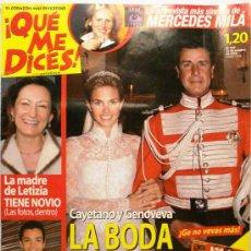 Coleccionismo de Revistas y Periódicos: QUE ME DICES - REVISTA SEMANAL Nº 449. Lote 38413342