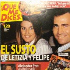 Coleccionismo de Revistas y Periódicos: QUE ME DICES - REVISTA SEMANAL Nº 450. Lote 38413348