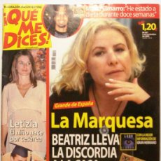 Coleccionismo de Revistas y Periódicos: QUE ME DICES - REVISTA SEMANAL Nº 451. Lote 38413359