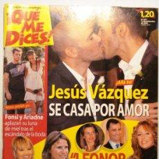 Coleccionismo de Revistas y Periódicos: QUE ME DICES - REVISTA SEMANAL Nº 452. Lote 38413395