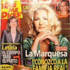 Coleccionismo de Revistas y Periódicos: QUE ME DICES - REVISTA SEMANAL Nº 453. Lote 38413404