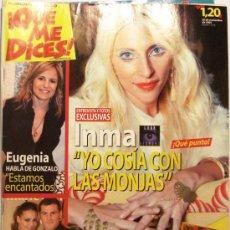 Coleccionismo de Revistas y Periódicos: QUE ME DICES - REVISTA SEMANAL Nº 454. Lote 38413416