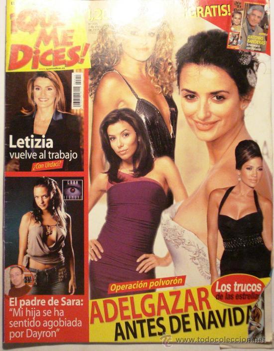 QUE ME DICES - REVISTA SEMANAL Nº 455 (Coleccionismo - Revistas y Periódicos Modernos (a partir de 1.940) - Otros)