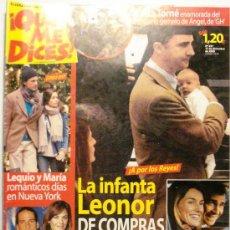 Coleccionismo de Revistas y Periódicos: QUE ME DICES - REVISTA SEMANAL Nº 457. Lote 38413454