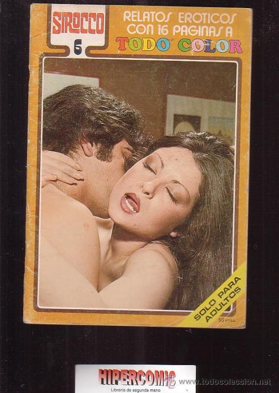 Sirocco No 6 Relatos Eroticos Revistas Eroticas De Los Anos 70 Coleccionismo
