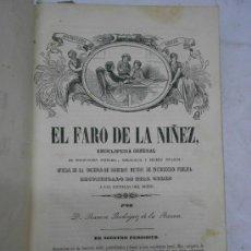 Coleccionismo de Revistas y Periódicos: EL FARO DE LA NIÑEZ.REVISTA INFANTIL.ENCICLOPEDIA GENERAL POR RAMON RODRIGUEZ DE LA BARRERA. Lote 38420450