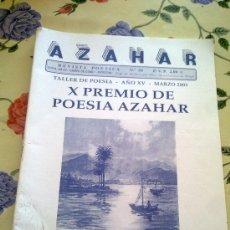 Coleccionismo de Revistas y Periódicos: REVISTA POÉTICA AZAHAR Nº 50 MARZO 2003. Lote 38424987