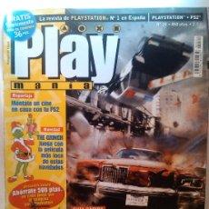 Coleccionismo de Revistas y Periódicos: PLAY MANIA REVISTA PLAYSTATION Nº 1 ESPAÑA PS2 Nº 24. Lote 38445082