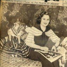 Coleccionismo de Revistas y Periódicos: REVISTA ESTAMPA 14 ABRIL 1934. Lote 38447222