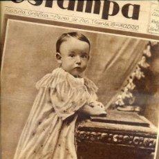 Coleccionismo de Revistas y Periódicos: REVISTA ESTAMPA 14 FEBRERO 1931 HAROLD LLOYD. Lote 38447359