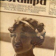 Coleccionismo de Revistas y Periódicos: REVISTA ESTAMPA 12 AGOSTO 1930. Lote 38447390