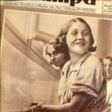 Coleccionismo de Revistas y Periódicos: REVISTA ESTAMPA 23 SETIEMBRE 1933. Lote 38447600
