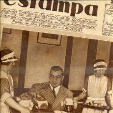 Coleccionismo de Revistas y Periódicos: REVISTA ESTAMPA 22 NOVIEMBRE 1930 PRIMO CARNERA. Lote 38448237