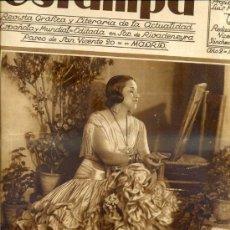 Coleccionismo de Revistas y Periódicos: REVISTA ESTAMPA 7 OCTUBRE 1930 CARMEN DÍAZ, MARIQUILLA TERREMOTO. Lote 38448260