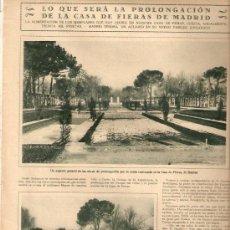 Coleccionismo de Revistas y Periódicos: AÑO 1928 ZOO MADRID MANTON DE MANILA SEVILLA SAL DE FRUTA ENO ESTUDIANTINA MEDICA DE VALENCIA . Lote 38470463