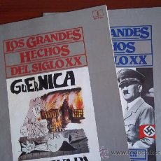 Coleccionismo de Revistas y Periódicos: LOS GRANDES HECHOS DEL SIGLO XX - FASCICULOS 1 Y 2 / DE ORBIS. Lote 38471333