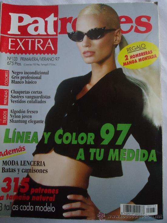 REVISTA PATRONES . VERANO 1997.Nº 133. 315 PATRONES (Coleccionismo - Revistas y Periódicos Modernos (a partir de 1.940) - Otros)