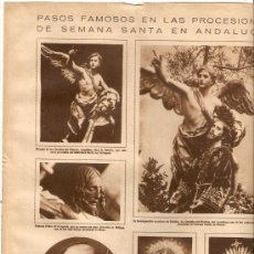 Coleccionismo de Revistas y Periódicos: AÑO 19?? PASOS PROCESION SEMANA SANTA CARTAGENA MALAGA SEVILLA MURCIA. Lote 38515670