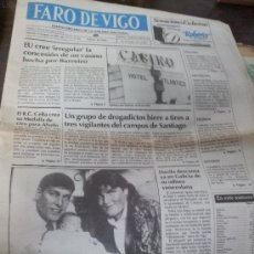 Coleccionismo de Revistas y Periódicos: DIARIO FARO DE VIGO 1988. Lote 38532484