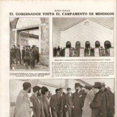 Coleccionismo de Revistas y Periódicos: AÑO 19?? CAMPAMENTO MENDIGOS MADRID SANIDAD HIGIENE ROMEO ALREDEDORES PALENCIA PAISAJE FOTOGRAFIA. Lote 38537767