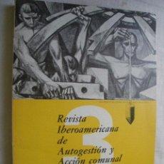 Coleccionismo de Revistas y Periódicos: REVISTA IBEROAMERICANA DE AUTOGESTIÓN Y ACCIÓN COMUNAL. Nº 3. 1983. Lote 38565374
